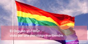 El Orgullo LGTBIQ+ visto por una psicóloga mariliendre